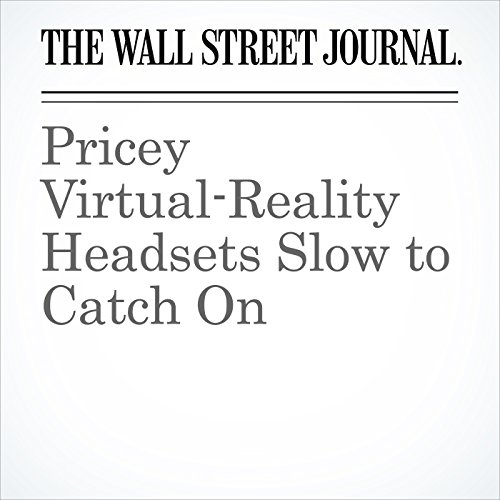 Pricey Virtual-Reality Headsets Slow to Catch On audiobook cover art