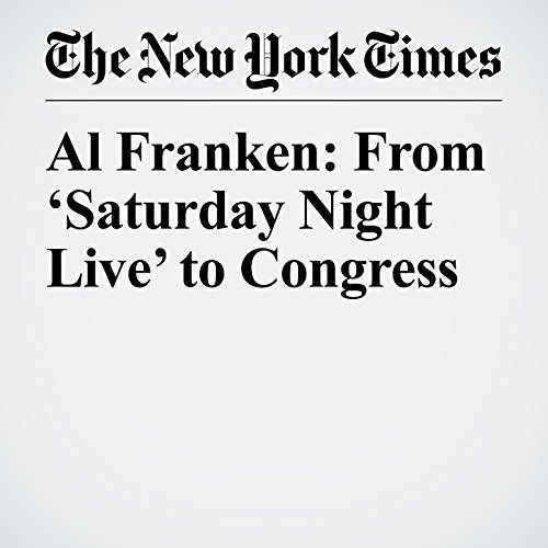 Al Franken: From 'Saturday Night Live' to Congress copertina