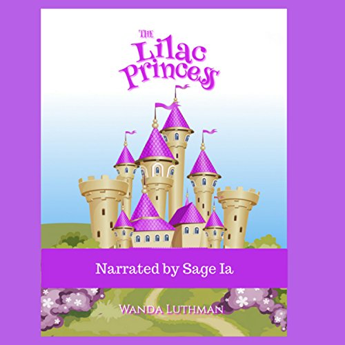The Lilac Princess audiobook cover art