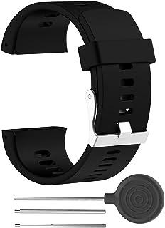 comprar comparacion Correa de silicona ajustable de repuesto Rejoicing, para reloj inteligente Polar V800 con herramienta (reloj no incluido)