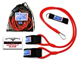 Bucwild Sports Baseball Resistance Bands Youth & Adult Athletes Safely Improve Pitching Throwing Batting & Arm Strength Used by Pitchers Quarterbacks Volleyball Basketball