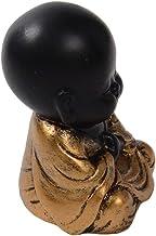 Baoblaze 1pc Buddha Statue Monk Figurines Tea Ceremony Decoration Blessing Gifts - A, 3.5x3.3x5.1cm
