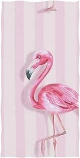 senya Pink Flamingo Hand Towel Ultra Soft Luxury Towels for Bathroom 30