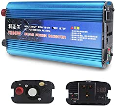 Power Inverter 1200W 1600W 2200W Dc 12/24V to Ac 240V Car Converter,with Led Display, Power Outlet and USB Port,Outdoor Emergency Generator,24V-1200W