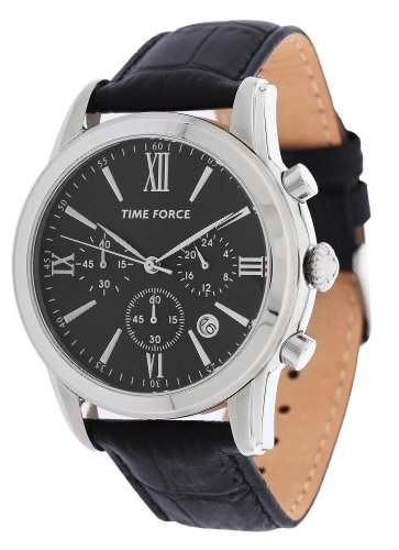 TIME FORCE TF-4099M01 - Reloj Caballero Piel