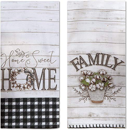 Top 10 Best Selling List for farmhouse style kitchen towels