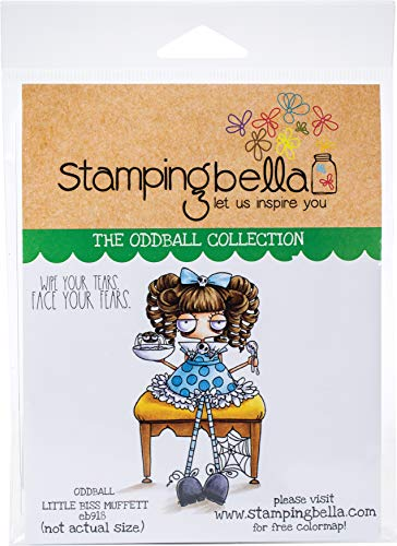 STAMPING BELLA Stamp MS, us:one size, Oddball Little Miss Muffett