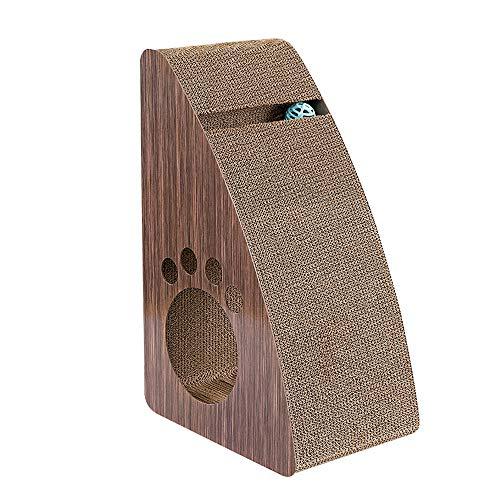 DZGN Katze Scratcher Karton, Vertikal Katzenkratzsäule Kralle Schleifer Wellpappe Verschleißfeste Für Alle Arten Von Katzen Glocke Ball Anti-Kratz-Gürtel Geeignet