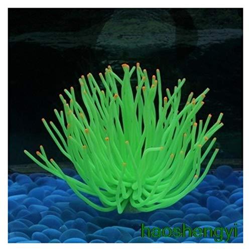 liuchenmaoyi Aquariumzubehör Simulationssoftware Korallen Seeigel Silikon Aquarium Aquarium Dekoration Aquarium (Color : 7, Size : 10cmx12.5cm)