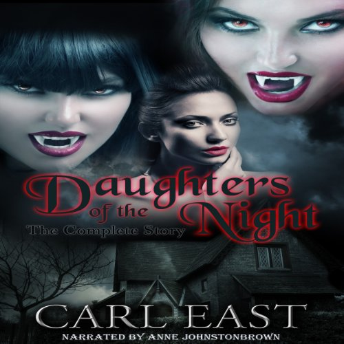 Daughters of the Night audiobook cover art