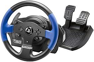 Thrustmaster T150 - volant de course ergonomique avec pédales, Retour de Force réactif - pour PS4 et PC - Fonctionne...