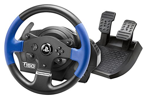 Thrustmaster T150 RS (Volante inkl. 2-Pedali, Force Feedback, 270° - 1080°, PS4 / PS3 / PC)