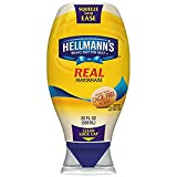 Hellmann's Mayonnaise, Squeeze - 20 oz ( 2 pack)