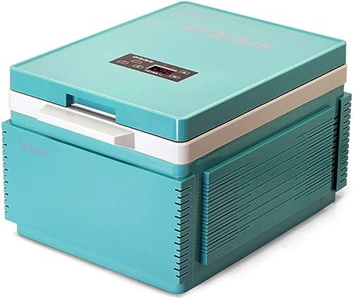 MNBX Réfrigérateur de Voiture de la Maison 12L de Boîte de Chauffage de Voiture et de réfrigération à Double Usage à la Maison, Double Tension 12V-24V, appropriée au Voyage, au Camping, au Bureau