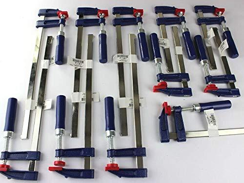 11 x Schraubzwinge Set 150x50 + 300x50 Zwinge Klemmzwinge Einhandzwinge