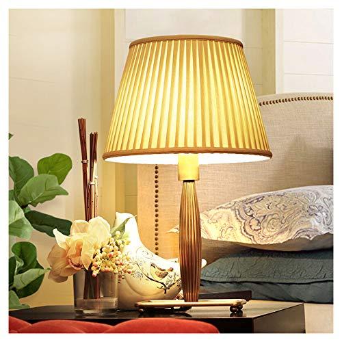 Lámpara de mesa LED, lámpara de escritorio, protección ocular, luz de lectura en la cama, lámpara de mesa, lámpara de escritorio americana, fácil de cobre, lámpara de escritorio para salón