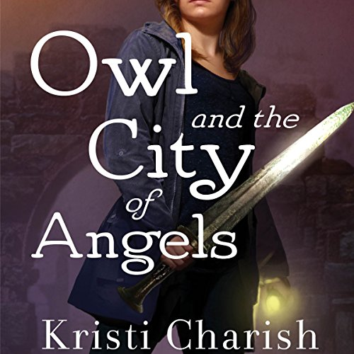 Owl and the City of Angels audiobook cover art
