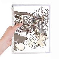 おいしい家庭料理を説明するためのswamm 硬質プラスチックルーズリーフノートノート