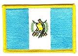 Flaggen Aufnäher Patch Guatemala Fahne Flagge NEU