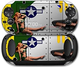 Sony PS Vita Skin WWII Bomber War Plane Pin Up Girl by WraptorSkinz by WraptorSkinz