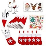 Kits de decoración de Mesa de Navidad,Paquetes de Decoraciones de Cena Mesa de...