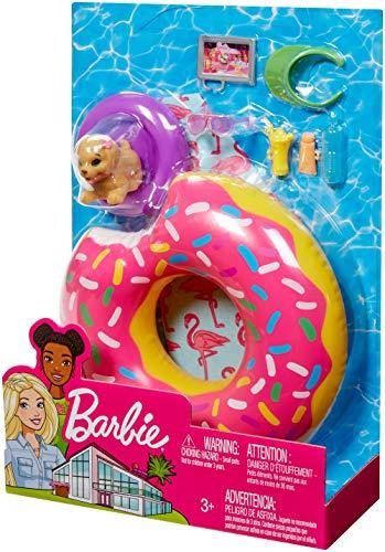 Barbie Accesorios Muñeca para la Playa o Piscina (Mattel FXG38) , color/modelo surtido