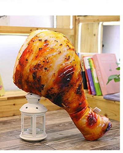 CPFYZH Niedliche Plüschtier Essen Real Life Huhn Chicken Wings Hähnchenschenkel Gebratener Reis Nudel Kissen Kissen Geburtstag Gift-60Cm_1