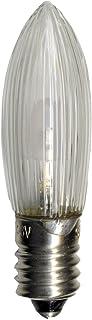 Best Season Universele LED vervangende lamp / E10 / 2100 K / imiteert 10 - 55 V, 0,2 W / 7 stuks op kaart / helder 300-70
