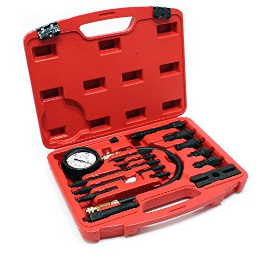 Testeur de Compression pour Moteurs Diesel (TDI et CDI) 0-70 Bars Kit dans Un Coffret