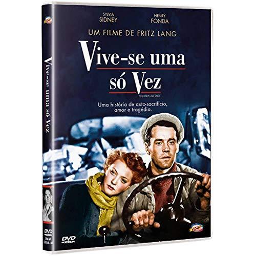 Dvd Vive-se Uma só Vez - Fritz Lang