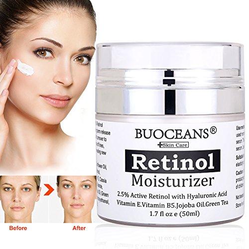 Crema antiarrugas con retinol Buoceans