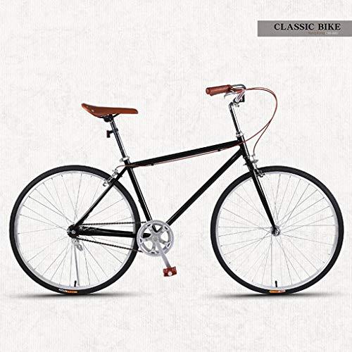 Bove Vintage 26 Inch Citybike Scheibenbremsen Stoßdämpfer Leicht Und Stabil Fahrrad Unisex-Single-Speed-A