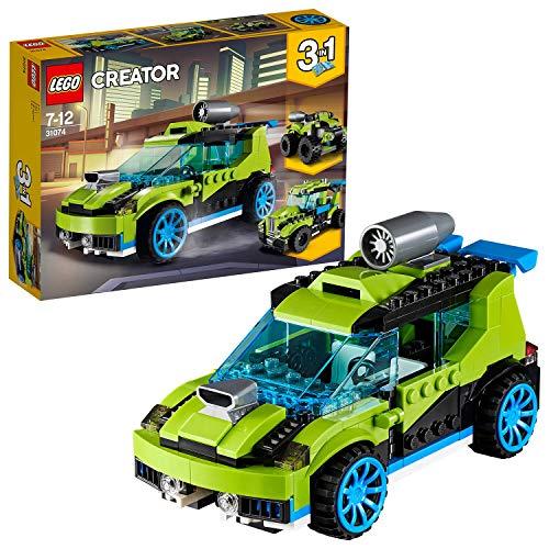 LEGO Creator 3 en 1 - Coche de Rally a Reacción, Juguete...