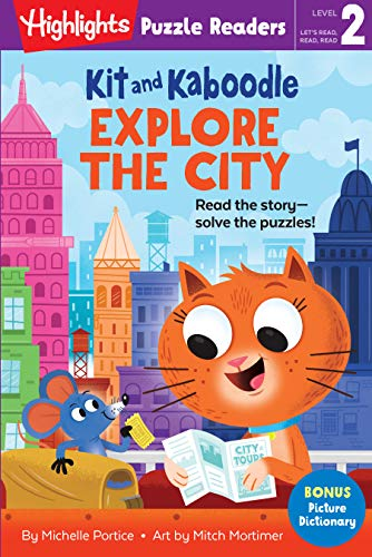 Kit and Kaboodle Explore the City (Highlights Puzzle Readers) (English Edition)