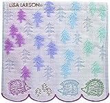 丸眞 ハンドタオル LISA LARSON リサ ラーソン 25×25cm はりねずみの森 綿100 無撚糸使用 6805011100