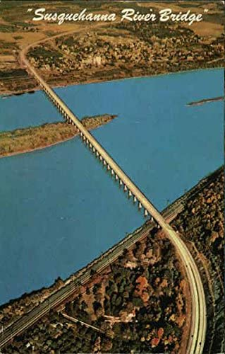 Susquehanna Bombing Courier shipping free shipping free shipping River Bridge - Pennsylvania Vin Turnpike PA Original