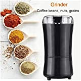 YZHM 1000W multifunción Amoladora eléctrica del Grano de café Frutos Secos moler el Grano poderosa Herramienta Mini Cocina Sal Pimienta Grind (Tamaño, UE),UE