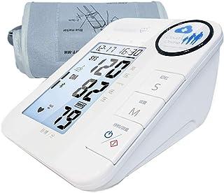 GYL Tensiómetro de Brazo Monitor de presión Arterial del Brazo Superior - Medida de la glucosa en Sangre hogar médico Cuidado Mayor monitorización Inteligente de Ritmo cardíaco esfigmomanómetro