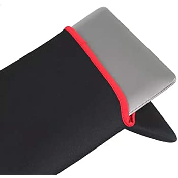 Generic Laptop Sleeve 10inch Bag, Case, Pouch Reversible Black & Red Model