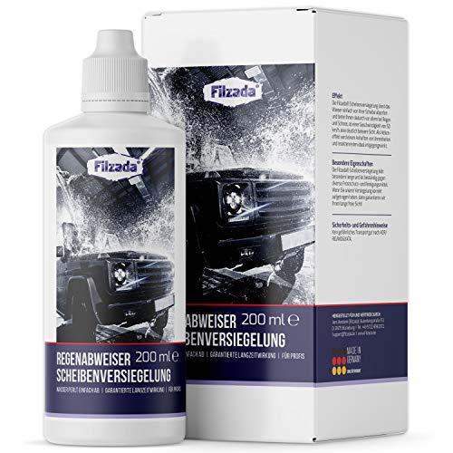 Filzada ® 200 ml Scheibenversiegelung Auto/Glas - Langanhaltender Und Wirkungsvoller Regenabweiser - Nanoversiegelung