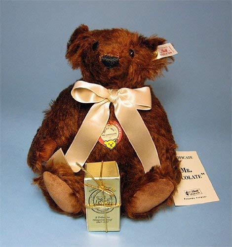 Steiff Mr Chocolate Teddy Bear Mohair Limited Edition