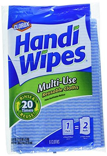 Clorox Handi Wipes Multi-Use Reuseable Cloths 6 ct