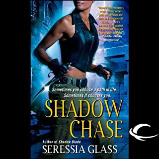 Shadow Chase audiobook cover art