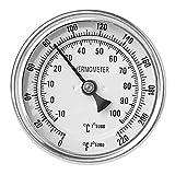 VEILTRON Term�Metros de Carne para cocinar Term�Metro de Cocina de Acero Inoxidable Resistente al Agua de Tallo de Lectura Instant�NEA para Parrilla de Barbacoa de Pavo
