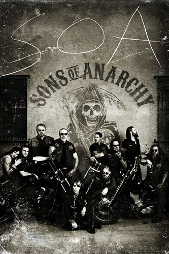 Close Up Sons of Anarchy Poster Vintage (61cm x 91,5cm)