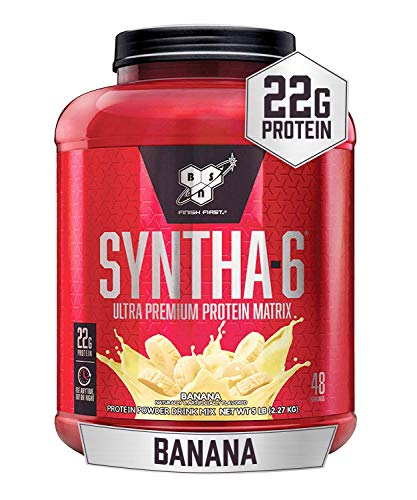 BSN Syntha 6 Sustained Release Banana Whey Protein Powder 2.29 Kg