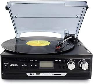 YWAWJ Tocadiscos, Retro del fonógrafo de la Placa giratoria de ...