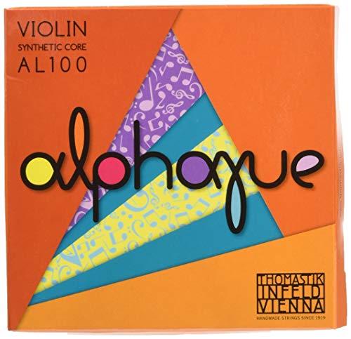 "Thomastik Corde per Violino ALPHAYUE nucleo di nylon, set 4/4 medium, Misura 325mm / 12.8"""