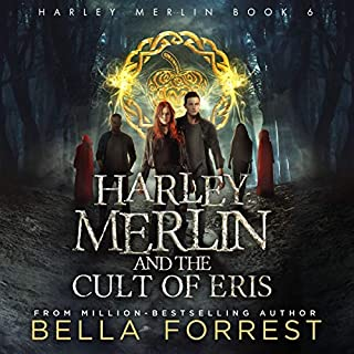 Harley Merlin and the Cult of Eris audiobook cover art