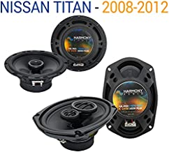 Compatible with Nissan Titan 2008-2012 Factory Speaker Upgrade Harmony R69 R65 Package New